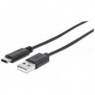 Cable USB Manhattan C macho/A macho 1M