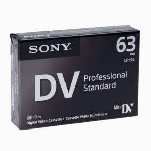 Sony dvm63ps video cassette dig alta def mini dvc