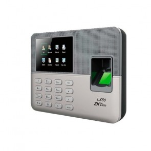Control asistencia ZK LX50 500 usuarios con huella y password