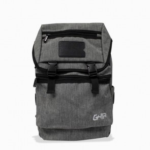"Mochila Backpack GHIA 15.6"" gris/negro"