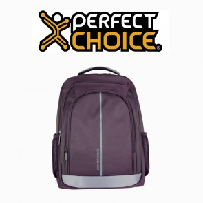 "Mochila Perfect Choice laptop 15""-17"" morada"