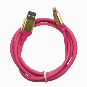 Cable para Iphone tipo silicon