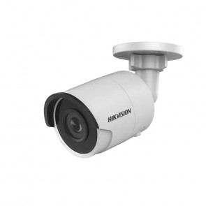 Cámara mini Bala IP 4MP Hikvision /30Mts/Exterior/lente 2.8MM POE