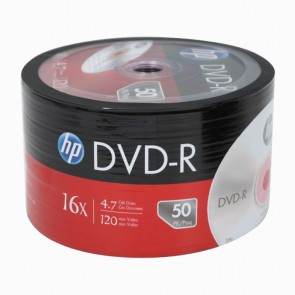 HP DVD-R 4.7GB 16X c/50