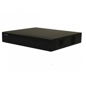 DVR HiLook 16 canales turbo HD 3MP/2CH IP/1 bahía disco duro