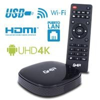 Smart TV Box GHIA GAC-003/QUAD/1GB/8GB/LAN/WIFI/HDMI