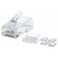 Plug RJ45 Intellinet Cat 6 UTP solido pro 80 piezas