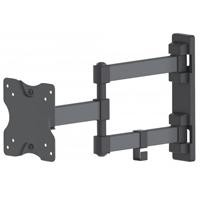 "Soporte para pared manhattan TV doble brazo 13""-27"" 20KG"