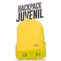 "Mochila Backpack GHIA 15.6"" amarillo"