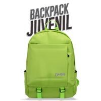 "Mochila Backpack GHIA 15.6"" verde"