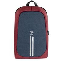 "Mochila anti-robo Perfect Choice 15.6"" rojo/azul"