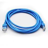 Cable de red GHIA 2m cat 5e utp azul