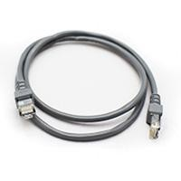 Cable de red GHIA 1m cat 5e utp gris