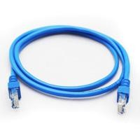 Cable de red GHIA 1m cat 5e utp azul
