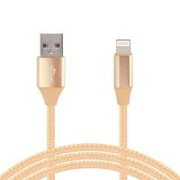 Cable lighting GHIA 1.0m USB cargador dorado