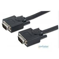 Cable VGA Manhattan 3 mts negro macho-macho