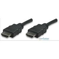 Cable HDMI Manhattan V1.4 M-M 15 mts /negro