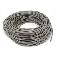 Bobina de cable RJ45 Intellinet Cat 6 CCA Solida gris 305 mts