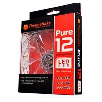 Ventilador Thermaltake Pure 12 Led Rojo 120MM