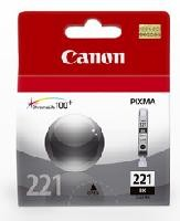 Cartucho Canon CLI-221 negro p/ip3600, 4700, MP560, P4700, MP540, MP560