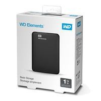 Dd externo 1TB WD 2.5 USB elements negro