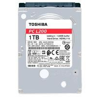 DD interno Toshiba L200 2.5 1TB SATA3 5400RPM 7MM p/laptop