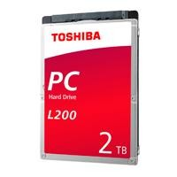 DD interno Toshiba L200 2.5 2TB 5400RPM p/laptop