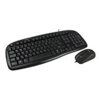 Teclado/mouse alambrico Perfect Choice USB negro