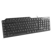 Teclado multimedia True Basix /Acteck USB alambrico