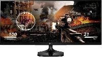 "Monitor Led LG 25"" cinemascreen ips fullhd negro"