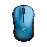 Mouse Logitech M185 inalambrico blue
