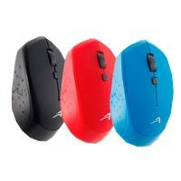 Mouse inalambrico USB Acteck rojo