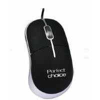 Mouse alambrico Perfect Choice ultraconfort USB negro