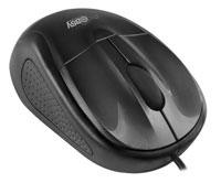 Mouse alambrico Perfect Choice USB negro