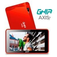 Tablet GHIA Axis7 T7718A roja