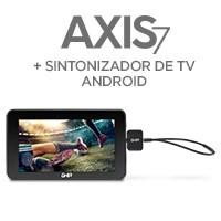 Bundle Tablet GHIA AXIS7 T7718N Quaq Core/1GB/8GB/2CAM negra c/ sintonizador TV