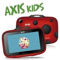 "Tablet GHIA Kids 7""/QUAD CORE/1GB/8GB/2CAM/WIFI/BT/catarina roja c/negro"