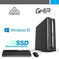 PC GHIA Frontier Slim AMD A8-9600 3.1 GHz/4GB/SSD 60GB/Win 10 home
