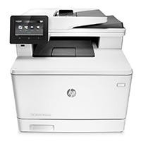 Multifuncional HP Color Laserjet Enterprise M577DN dúplex/red/oficio