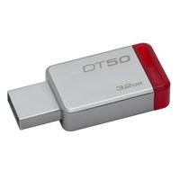 Memoria Kingston 32gb USB 50 metalica/roja