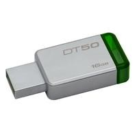 Memoria kingston 16GB USB 50 metalica / verde