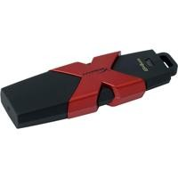 Memoria Kingston 64GB USB Hyperx Savage negro/rojo gamer