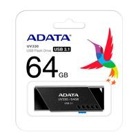 Memoria Adata 64GB USB UV330 retráctil negro