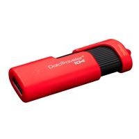 Memoria Kingston 32GB USB Datatraveler 104 rojo