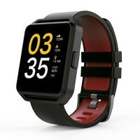 "GHIA Smart Watch/1.54"" Touch/BT/IOS/Android negro/rojo"