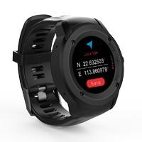 GHIA Smart Watch Draco /1.3 Touch/Heart Rate/BT/GPS negro