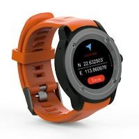 GHIA Smart Watch Draco /1.3 Touch/Heart Rate/BT/GPS anaranjado