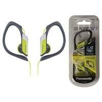 Audífonos tipo clip Panasonic RP-HS34PP amarillo uso deportivo 3.5mm