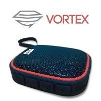 Bocina bluetooth waterproof GHIA negra/rojo