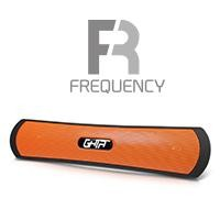 Bocina bluetooth GHIA negra/naranja 3.5mm/radio/micro SD/USB